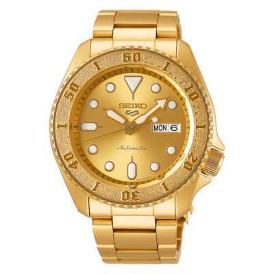 Seiko 5 Sports Gold Dial 43MM Automatic SRPE74K1