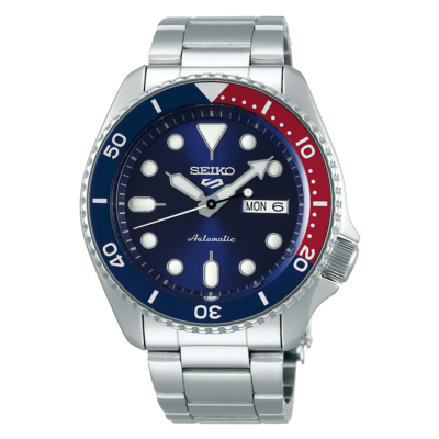 """Seiko 5 Sports Blue Dial 43MM """" Sports Style """" Automatic SRPD53K1"""