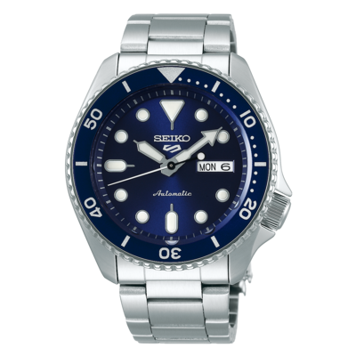 """Seiko 5 Sports Blue Dial 43MM """" Sports Style """" Automatic SRPD51K1"""