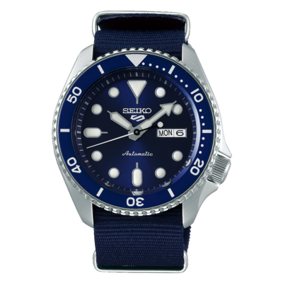 """Seiko 5 Sports Blue Dial 43MM """" Sports Style """" Automatic SRPD51K2"""