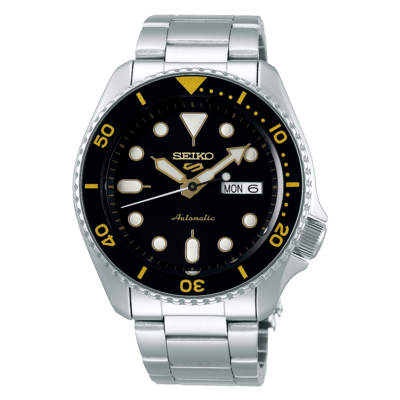 """Seiko 5 Sports Black Dial 43MM """" Sports Style """" Automatic SRPD57K1"""