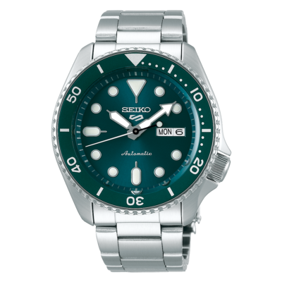 """Seiko 5 Sports Green Dial 43MM """" Sports Style """" Automatic SRPD61K1"""