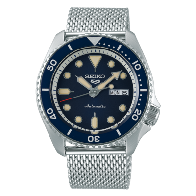 """Seiko 5 Sports Blue Dial 43MM """" Suits Style """" Automatic SRPD71K"""