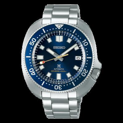 "Seiko Prospex Blue Dial 43MM "" Turtle "" Captain Willard Automatic SPB183"