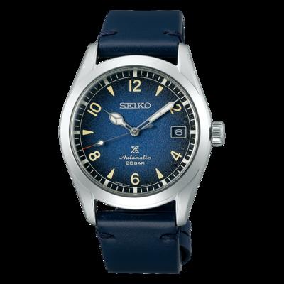 "Seiko Prospex Blue Dial 38MM "" Alpinist "" Automatic SPB157"