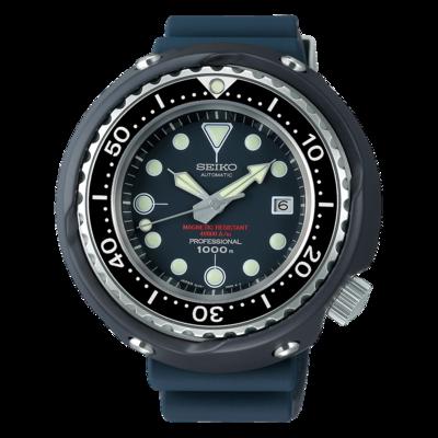 "Seiko Prospex Blue Dial 45MM "" Tuna "" Automatic SLA041"