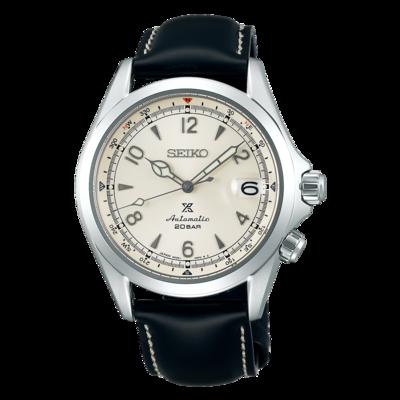 Seiko Prospex White Dial 40MM Alpinist Automatic SPB119