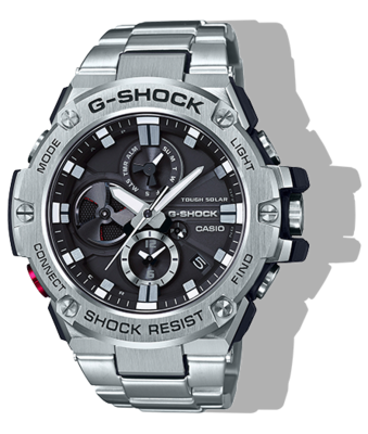 G-SHOCK GSTB100D-1A G-STEEL MEN'S WATCH