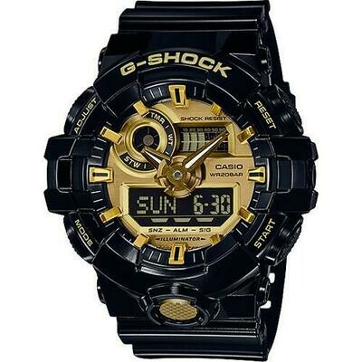 G-SHOCK GA710GB-1A MEN'S WATCH
