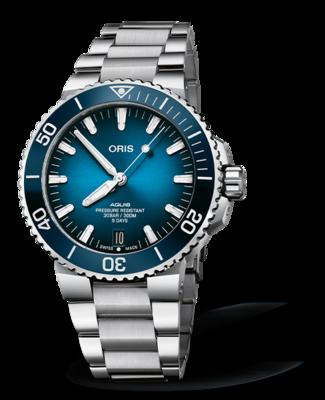 Oris Aquis Date Calibre 400 Blue Dial 44MM Automatic