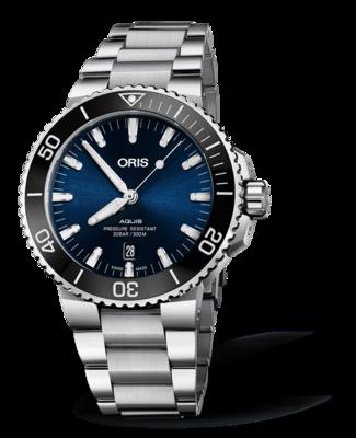 Oris Aquis Date Blue Dial 44MM Automatic