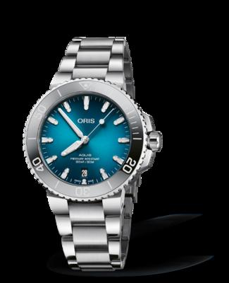 Oris Aquis Date Blue Dial 40MM Automatic