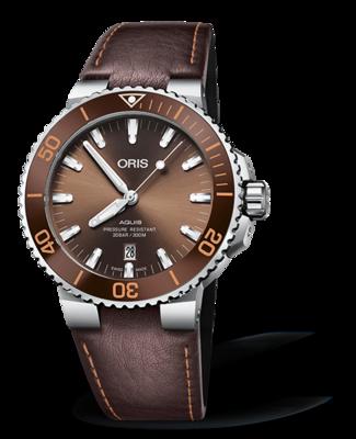 Oris Aquis Date Brown Dial 44MM Automatic