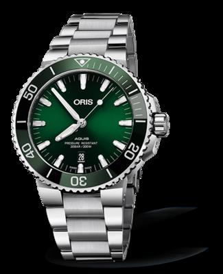 Oris Aquis Date Green Dial 44MM Automatic