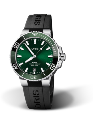 Oris Aquis Date Green Dial 40MM Automatic