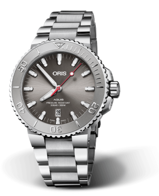 Oris Aquis Date Relief Grey Dial 44MM Automatic