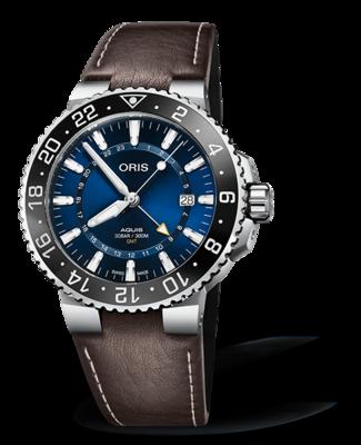 Oris Aquis GMT Date Blue Dial 44MM Automatic