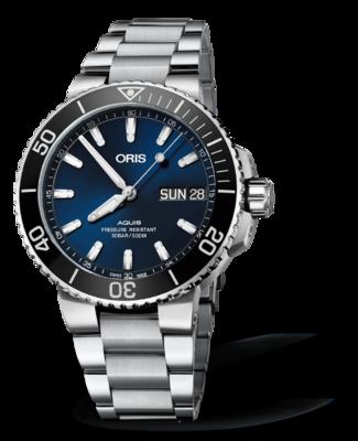 Oris Aquis Big Day Date Blue Dial 46MM Automatic