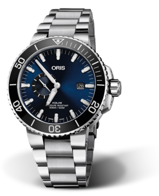Oris Aquis Small Second, Date Blue Dial 46MM Automatic