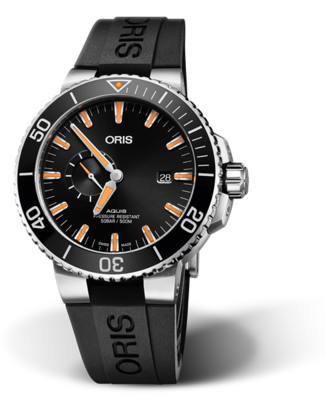 Oris Aquis Small Second, Date Black Dial 46MM Automatic