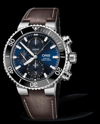 Oris Aquis Chronograph Blue Dial 46MM Automatic