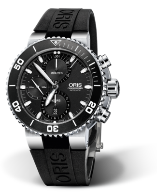 Oris Aquis Chronograph Black Dial 46MM Automatic