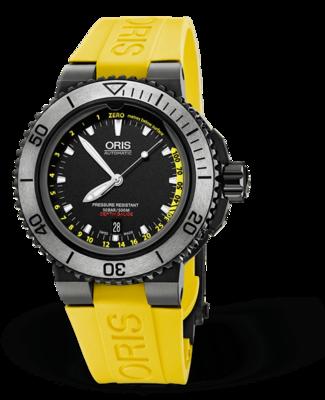 Oris Aquis Depth Black Dial 46MM Automatic