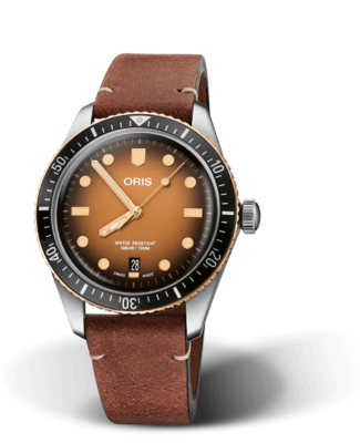 Oris Divers Sixty-Five Brown Dial 40MM Automatic