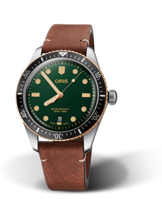 Oris Divers Sixty-Five Green Dial 40MM Automatic