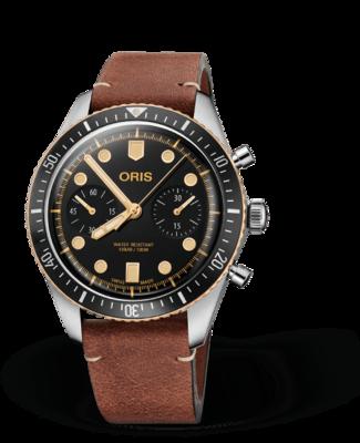 Oris Divers Sixty-Five Chronograph Black Dial 43MM Automatic