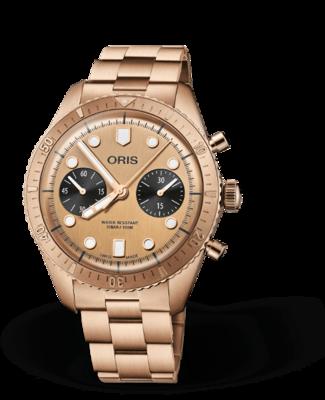 Oris Holestein Edition 2020 Golden Dial 43MM Automatic