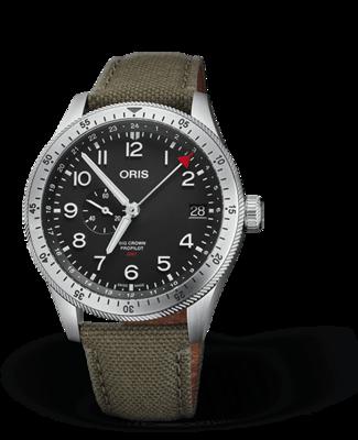 Oris Big Crown ProPilot Timer GMT Black Dial 44MM Automatic