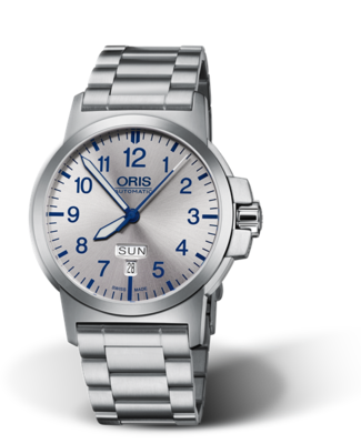 Oris BC3 Advanced, Day Date Silver Dial 42MM Automatic