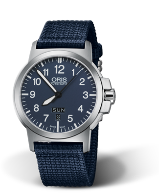 Oris BC3 Advanced, Day Date Blue Dial 42MM Automatic