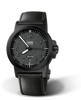 Oris BC3 Advanced, Day Date Black Glowing Dial 42MM Automatic
