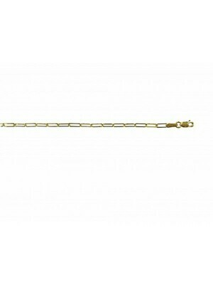 Yellow Gold Paper Clip Link 14KT