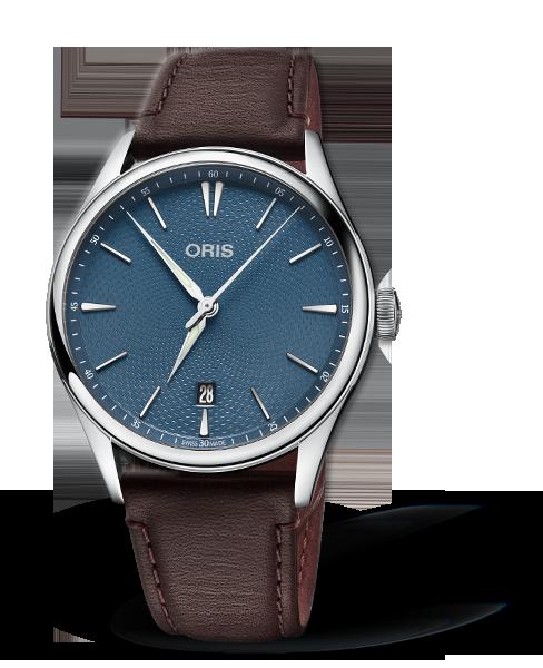 Oris Artelier Date Blue Dial 40MM Automatic