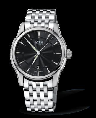 Oris Artelier Date Black Dial 40MM Automatic
