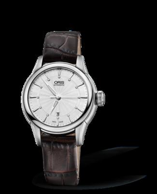 Oris Artelier Date Diamonds Silver Dial 31MM Automatic