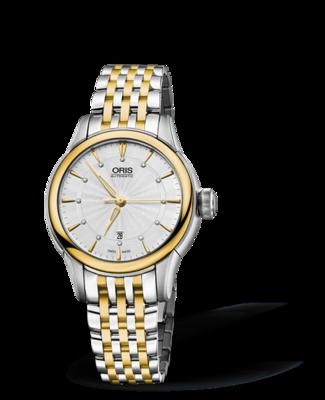 Oris Artelier Date Silver Dial 31MM Automatic