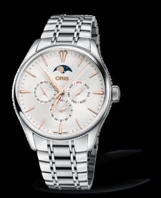 Oris Artelier Complication Silver Dial 40MM Automatic