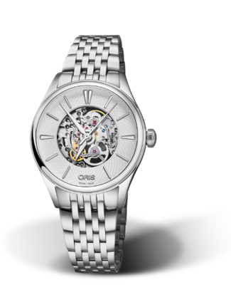 Oris Artelier Skeleton Silver Dial 33MM Automatic