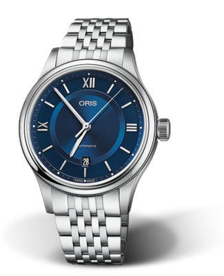 Oris Classic Date Blue Dial 42MM Automatic
