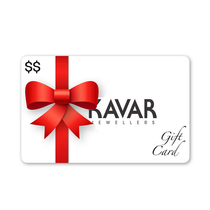 KAVAR Jewellers Gift Card | ONLINE & IN-STORE Bramalea City Centre