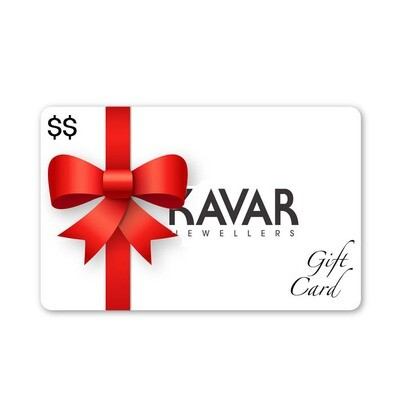 KAVAR Jewellers Gift Card | ONLINE & IN-STORE Bramalea City Centre