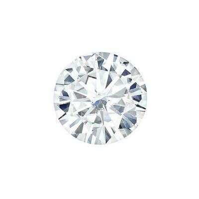 Forever One 0.06CTW Round Moissanite Gemstone