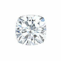 Forever One 0.13CTW Cushion Moissanite Gemstone