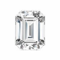 Forever One 0.58CTW Emerald Moissanite Gemstone