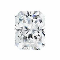 Forever One 0.70CTW Radiant Moissanite Gemstone
