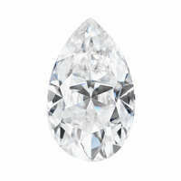 Forever One 6.76CTW Pear Colorless Moissanite Gemstone Grade F
